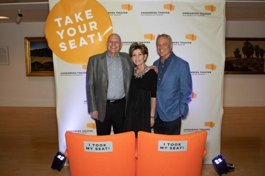 From left: John Monahan, Terri Ketover and Michael Miner.