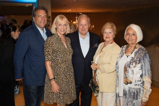 From left: Lennie Eber and Dianne Rubin, John and Yvonne Maloney, and Renee Glickman.