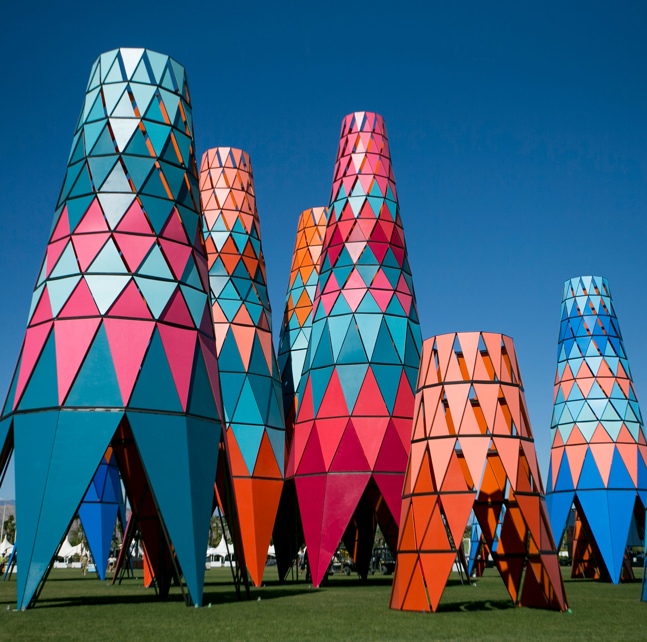 First look: Coachella 2019 festival art installations, from astronaut to cactuses
