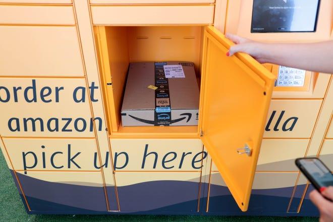 Amazon Lockers popped up at Coachella 2019.