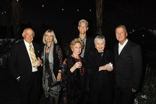 From left: Guests attending the pre-concert dinner hosted by the Pacific Symphony at Jillian's Restaurant are Bernard Reiter, Janet Reiter, Marge Barry, Gerry Green, Jean Viereck and Gary Hall.