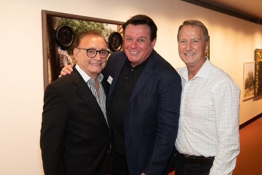 From left: Bill Lanese, Garry Kief and Gary Hall.