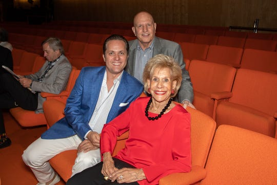 Seated front: Annette Bloch and Andrei Muresan. Standing: John Monahan.