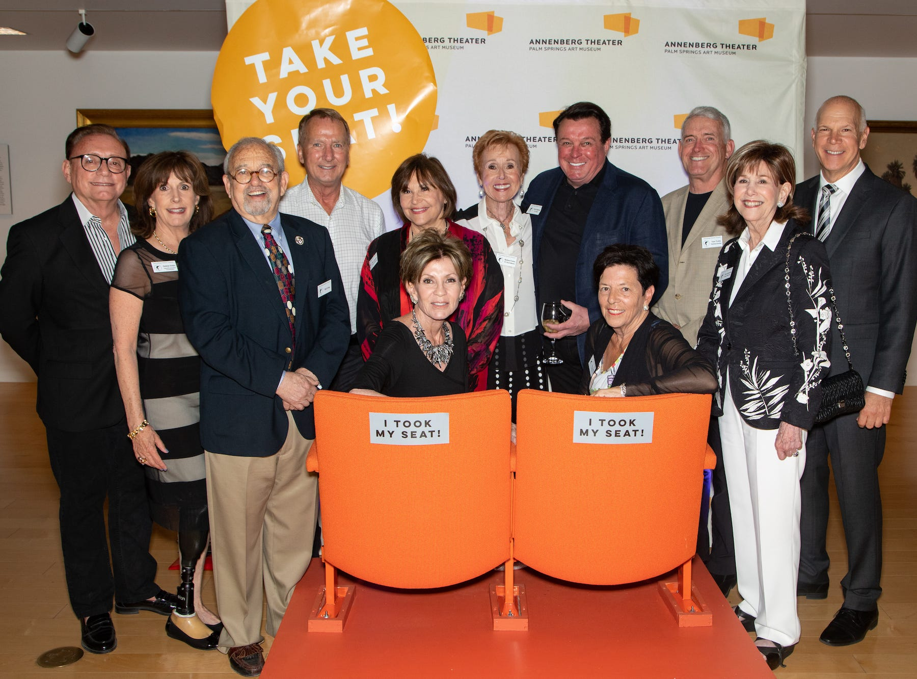 Annenberg council board: Standing, from left: Bill Lanese, Debbie Miller, Sid Craig, Gary Hall, Sue Cameron, Barbara Fromm, Garry Kief, Tom Truhe, Diane Gershowitz and David Zippel. Seated, from left: Terri Ketover and Ann Sheffer.