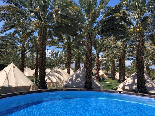 Rancho 51 Festival Campgrounds, Owned by Claudia Lua and Juan Alvarado, is located in the City of Coachella less than 2 miles from the concert venue in Indio.