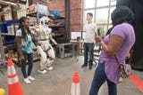 Visitors wowed by robots at IHMC open house