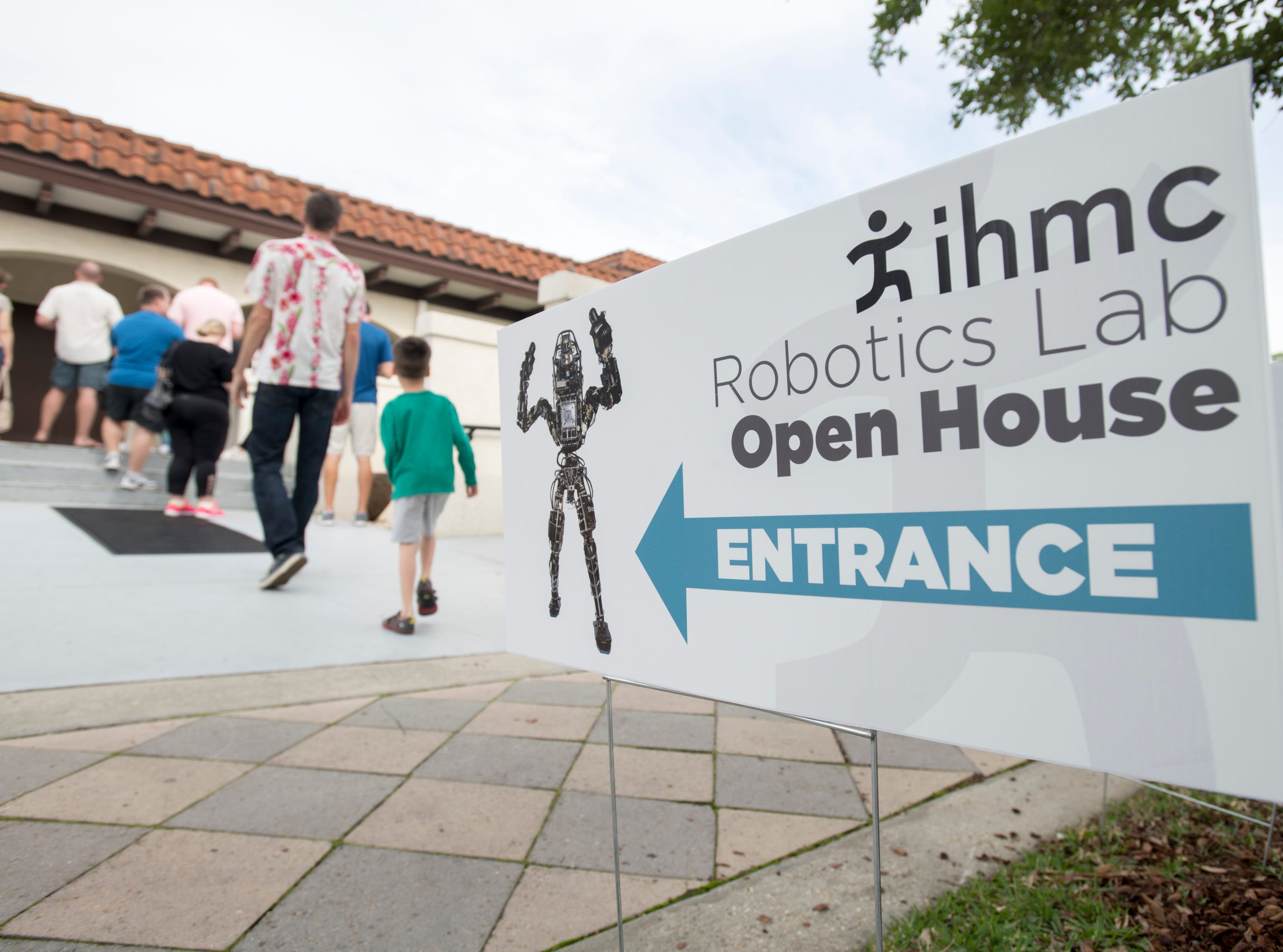 IHMC Open House in downtown Pensacola on Friday, April 12, 2019.