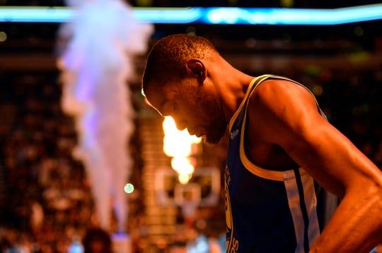 Kevin Durant of the Oklahoma City Thunder.