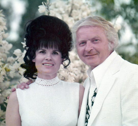 Nancy and Al Beadle on their 25th wedding anniversary.