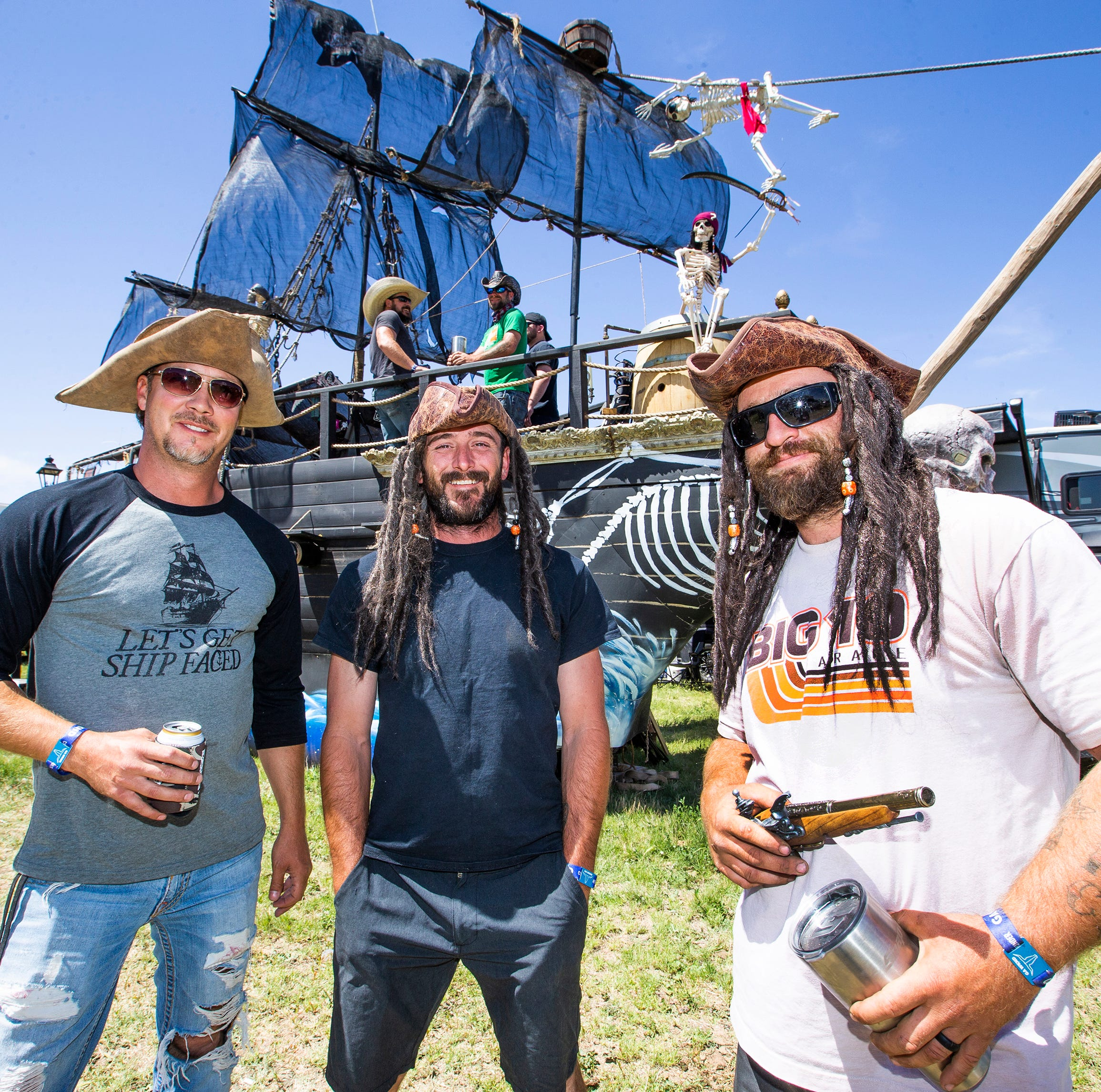 A pirate ship at Country Thunder Arizona? Here are the craziest, coolest campsites