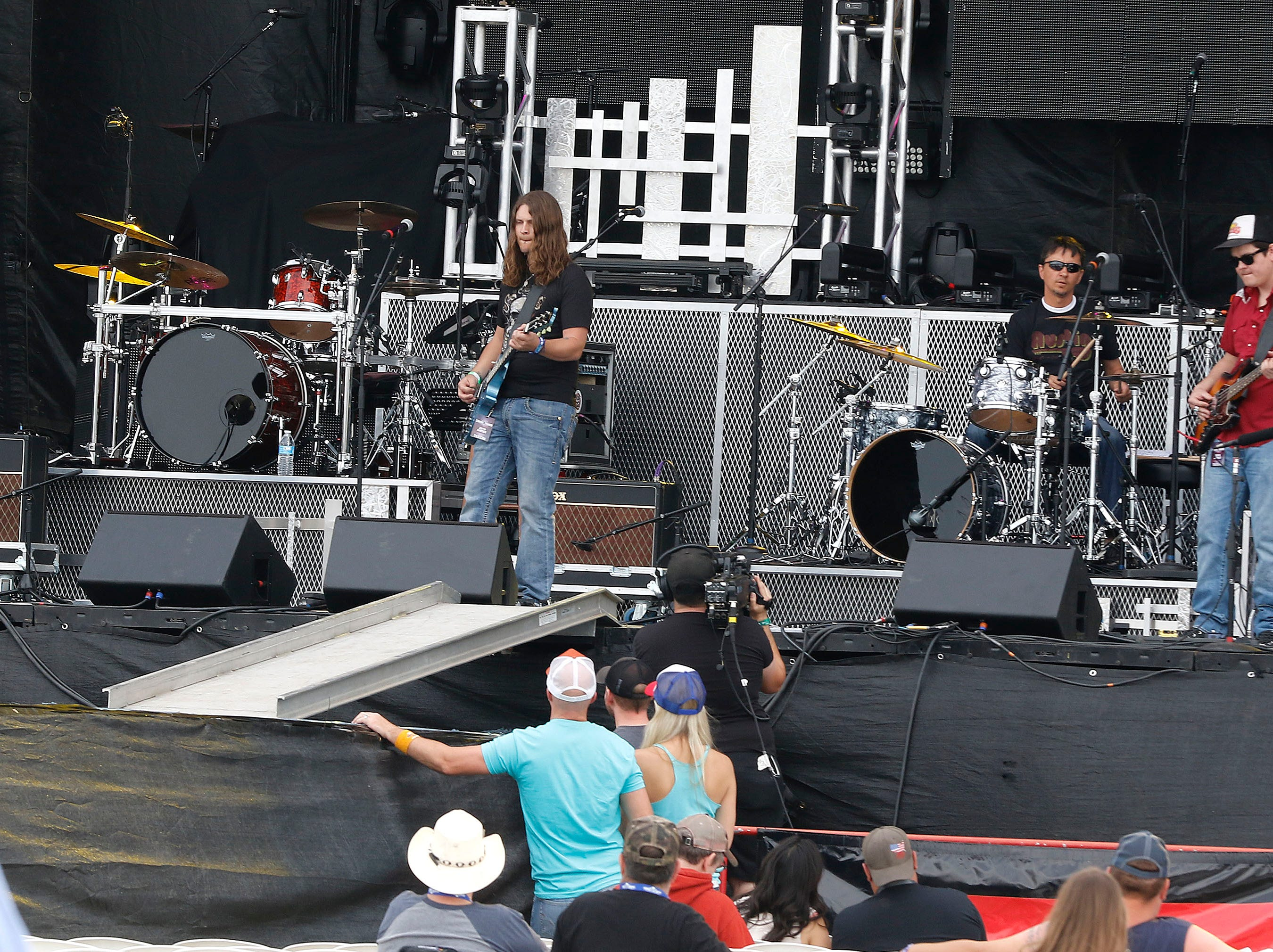 The Cole Trains starts things off at Country Thunder Arizona on April 11, 2019, in Florence, Arizona.