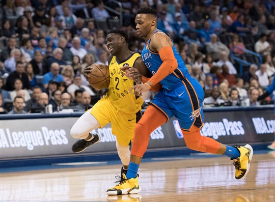 Darren Collison of the Indiana Pacers.