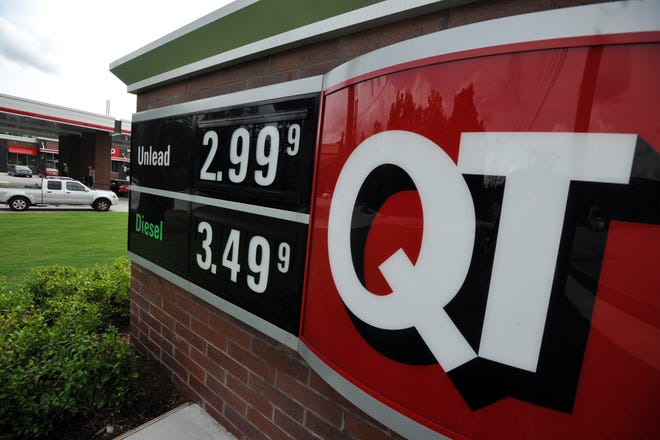 A QuikTrip convenience store.