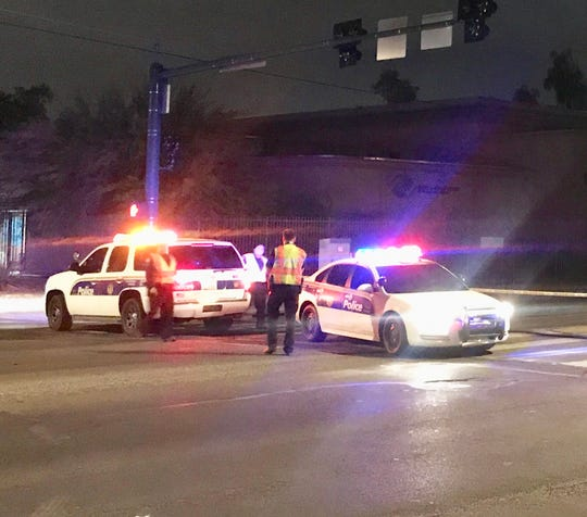 Phoenix police were at the scene of a shooting involving multiple victims Thursday night near 67th Avenue and Indian School Road.