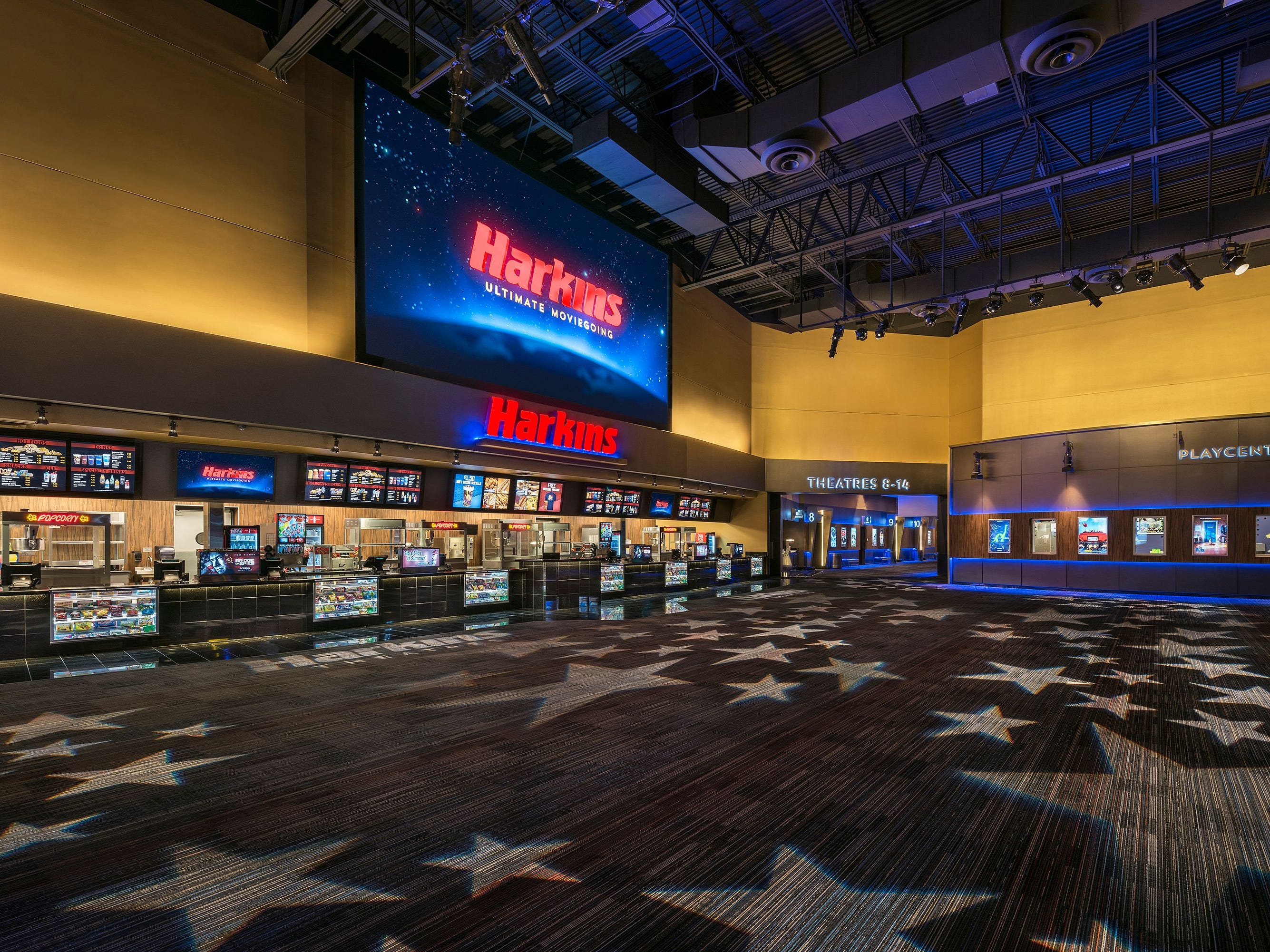 No. 64: Harkins Theatres | Movie theaters | 2019 employees: 2,867 | 2018 employees:2,844 | Ownership: Private | Headquarters: Scottsdale | www.harkinstheatres.com