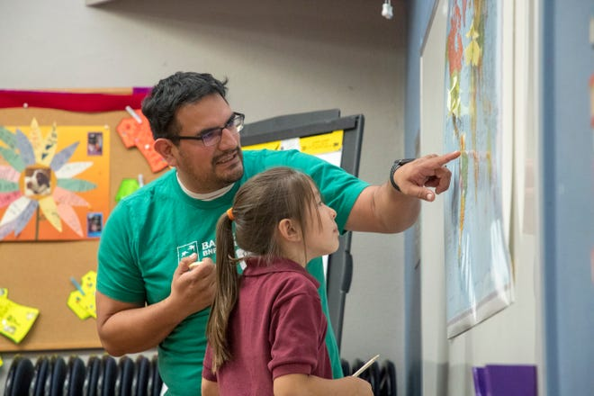 Bank of the West supports hands-on lesson financial education to develop important life skills.