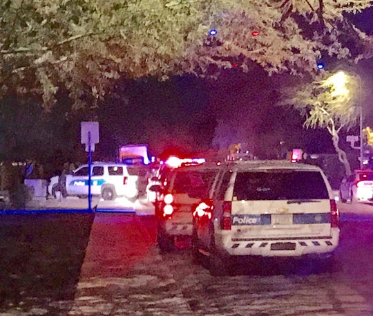 Phoenix police were at a shooting scene involving several victims near 67th Avenue and Indian School Road Thursday night.