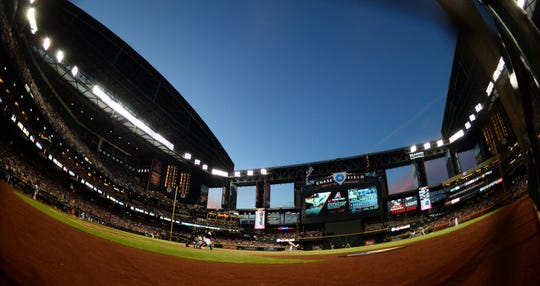 The Arizona Diamondbacks keep going up in value.
