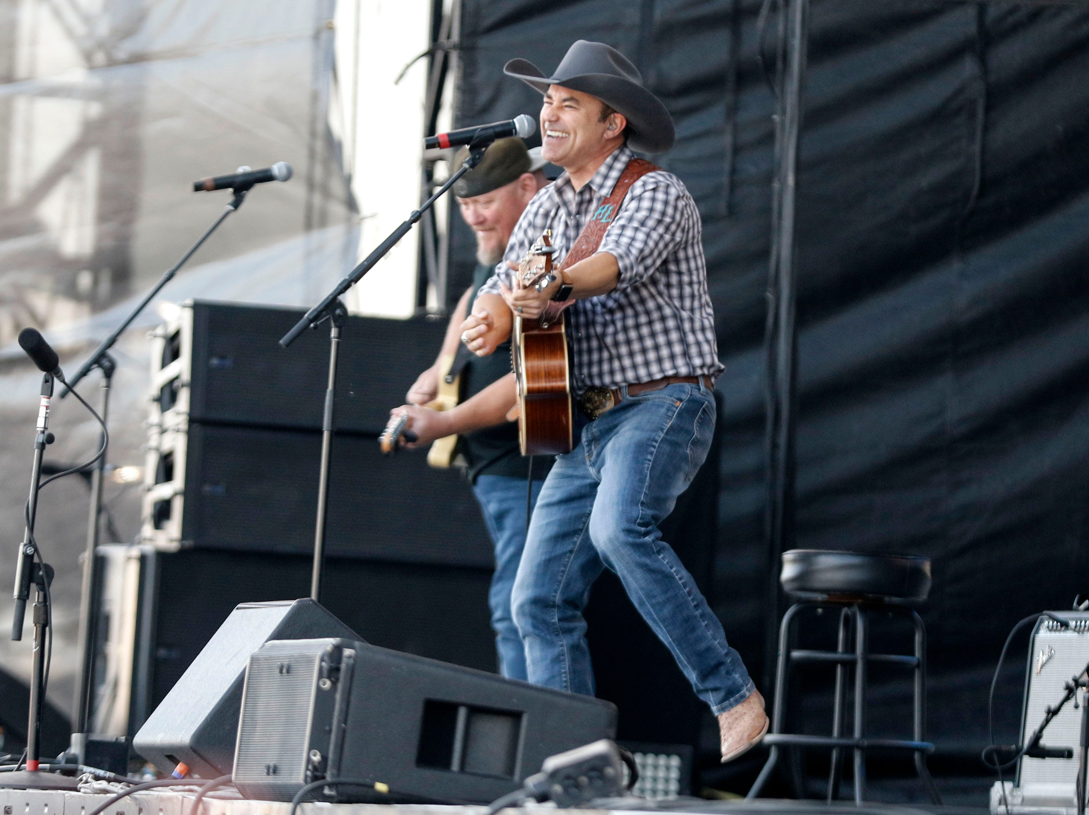 Harry Luge performs during Country Thunder Arizona on April 11, 2019, in Florence, Arizona.