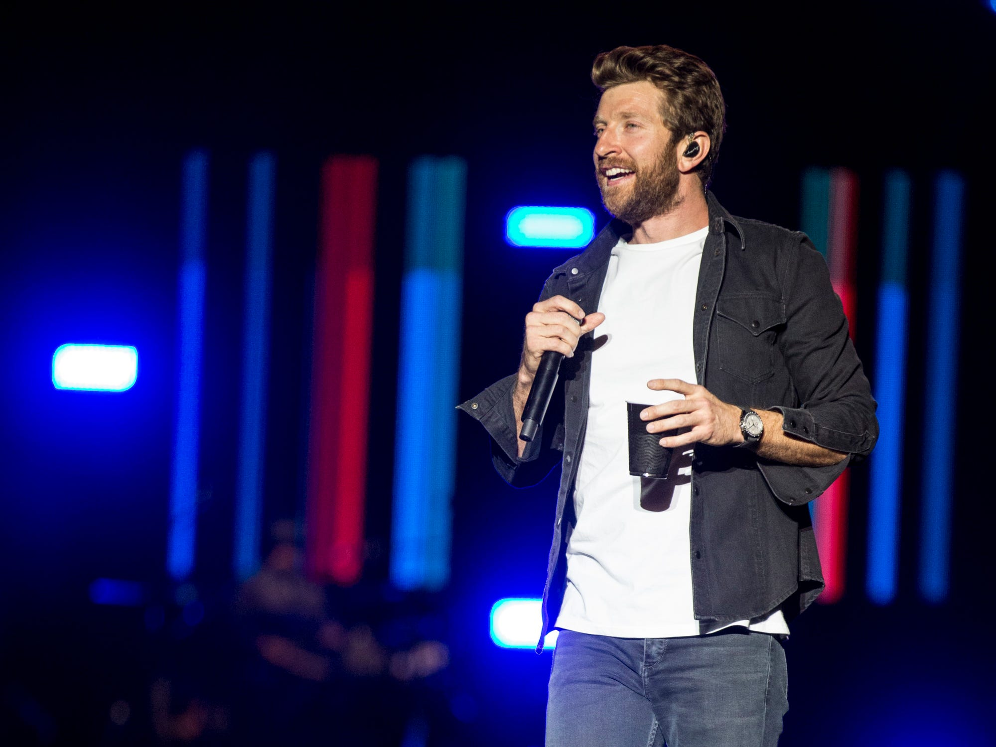 Brett Eldredge performs on April 11, 2019, during Day 1 of Country Thunder Arizona in Florence.