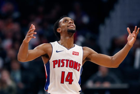 Ish Smith of the Detroit Pistons.