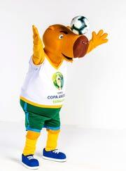 Zizito, la mascota de la Copa América Brasil 2019