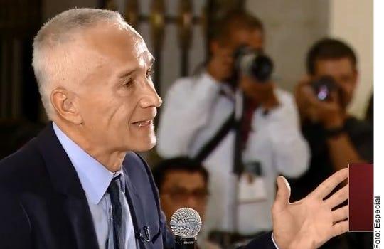 Jorge Ramos increpa a AMLO durante 'La Mañanera'