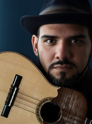 """Cuatro virtuoso Jorge Glem will be featured in the concert """"The Vibes of Venezuela"""" at Bard College's Fisher Center April 19."""
