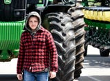 Spring Grove is invaded by farm machinery during the school district's 6th Annual Rollin' Tractor Show presented by the Future Farmers Club.