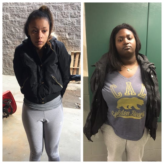 Kiasi Luboviski and Briana Williams, both 23, were arrested in connection to a series of vehicle burglaries in South Lake Tahoe in early April 2019.