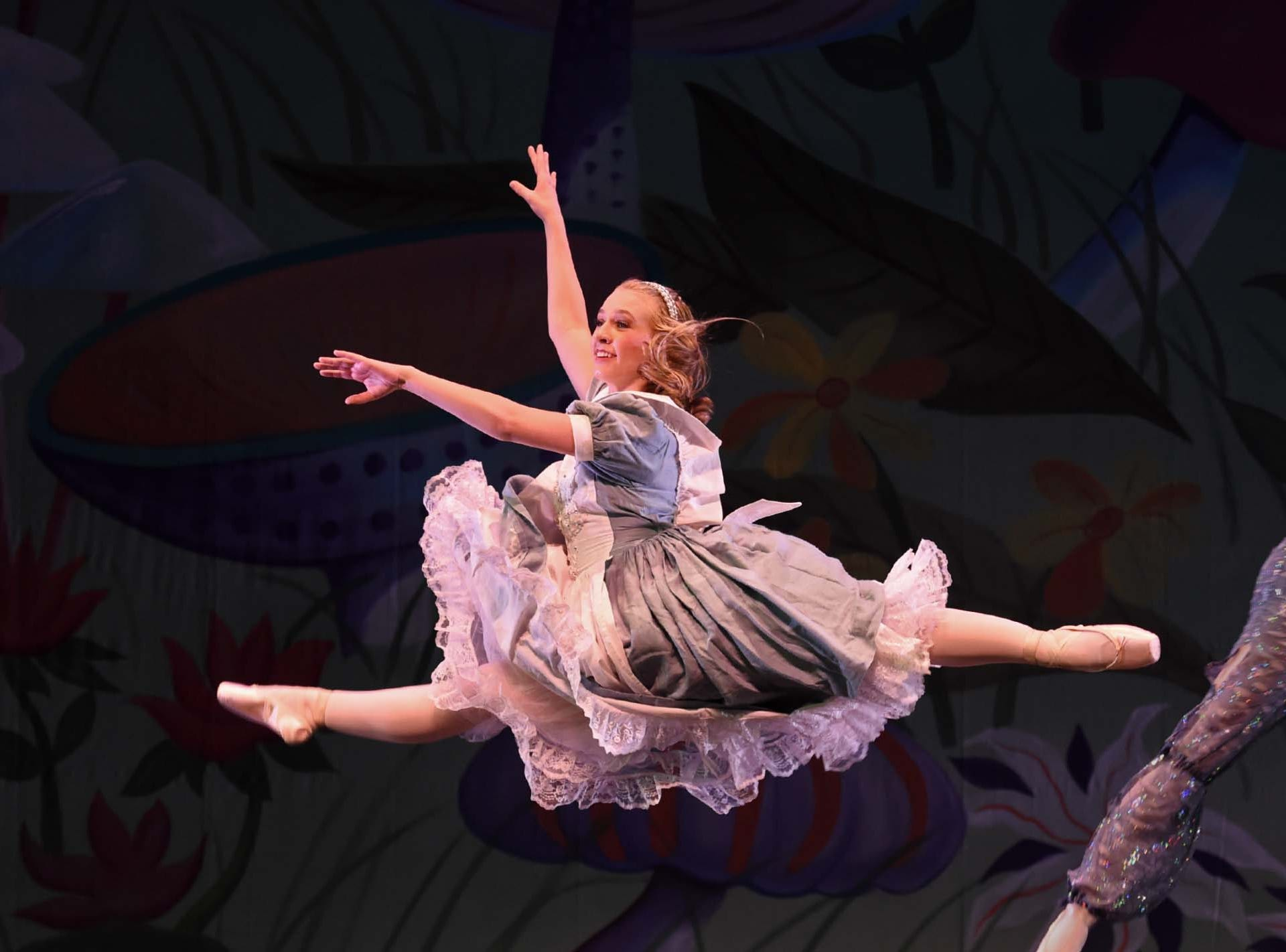 Images from A.V.A. Ballet Theatre's production of Alice in Wonderland at the Pioneer Center for the Performing Arts. 