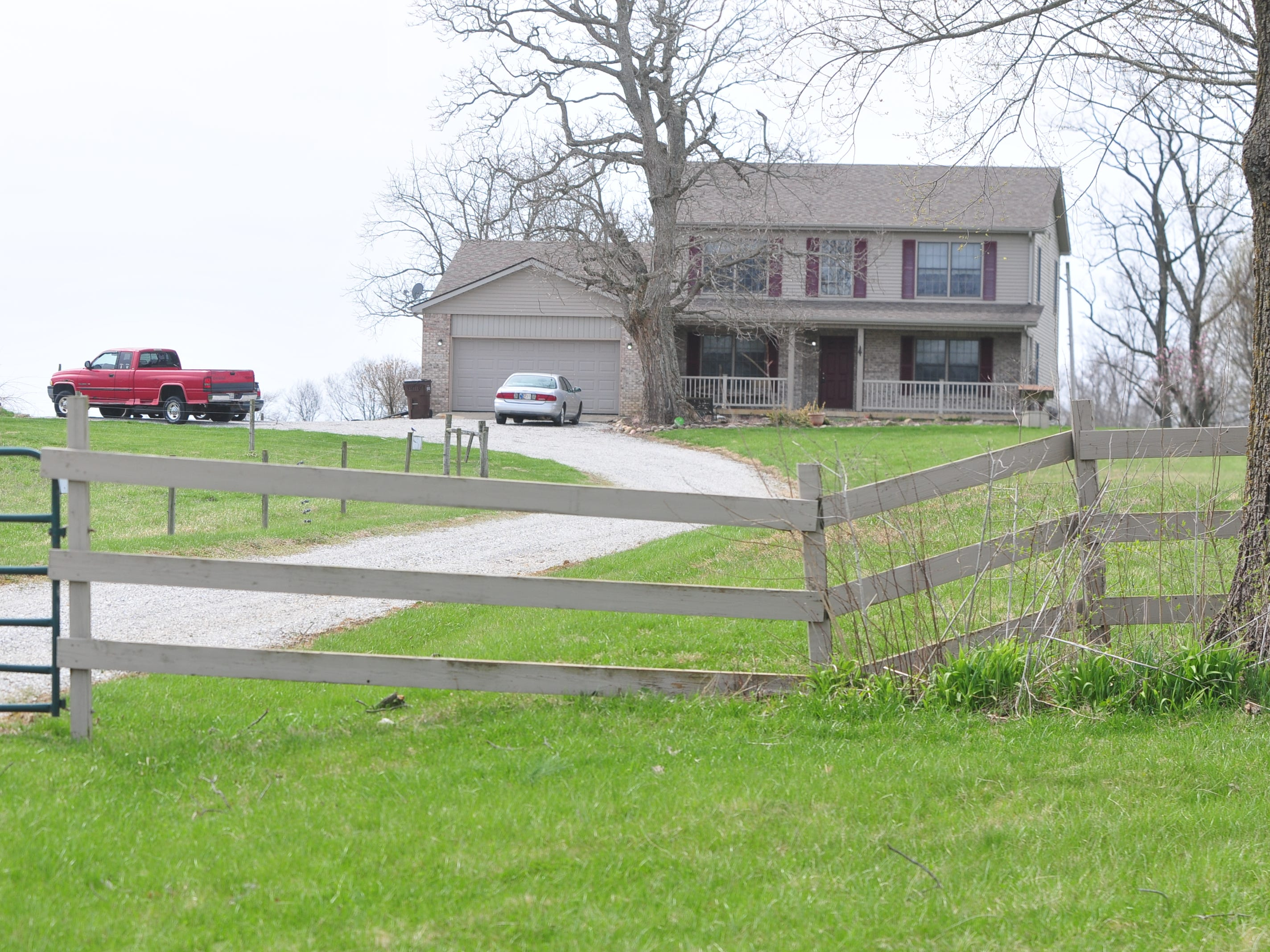 A request has been made for a zoning variance for the home and 10 acres at 4446 Stevens Road.