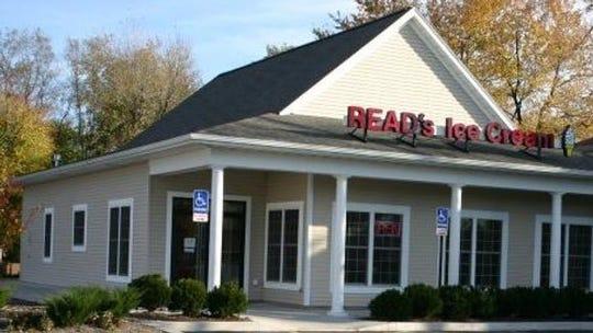 Read's Ice Cream shop at 3130 East Henrietta Road in Henrietta, is for sale.