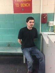 Justin James Knapp was arrested on suspicion of DUI on Thursday night.
