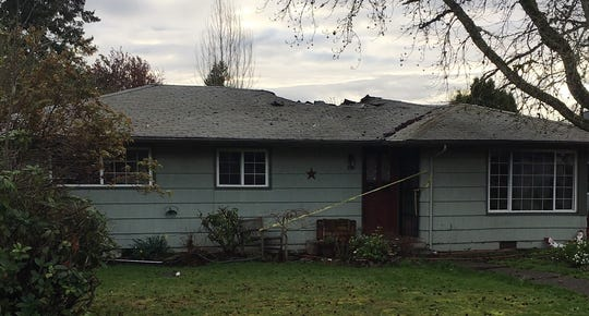A fire burned a home in the 300 block of 45th Ave SE early Friday morning.