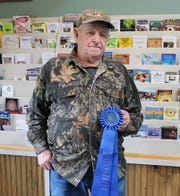 Carver Cork McGee was the 2018 People's Choice Award winner at the Chincoteague Easter Decoy and Art Festival.