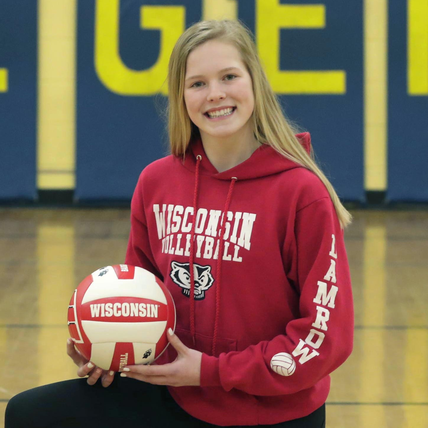 Wisconsin volleyball: Howards Grove eighth-grader Saige Damrow unfazed by verbal commitment