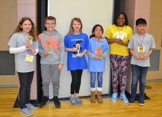 Winners of SASD's 2019 Battle of the Books.