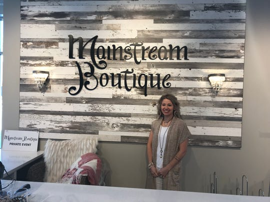 Mainstream Boutique is a women's clothing and accessory store in downtown Sheboygan.