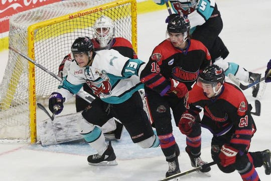The intensity of Shreveport Mudbugs captain Jay Feiwell can put a scare into opponents, and his teammates.