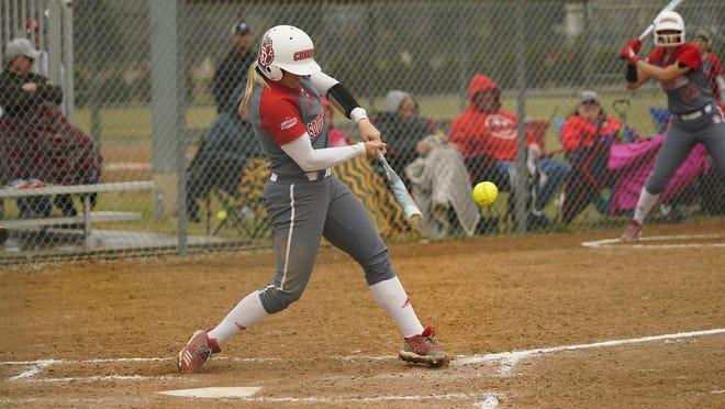 Jamie Holscher of USD is a threat to win the Summit League triple crown