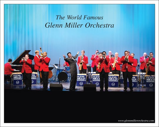 The Glenn Miller Orchestra will be performing at 1:30 p.m. and 7 p.m. April 23 at the Paramount Center for the Arts, 913 W St. Germain St.
