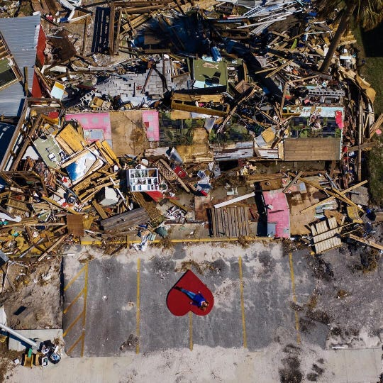 Hurricane Michael obliterated Lookout Lounge on the outskirts of Mexico Beach. Six months later the land has been cleared, and the Lookout has reopened in Port St. Joe.