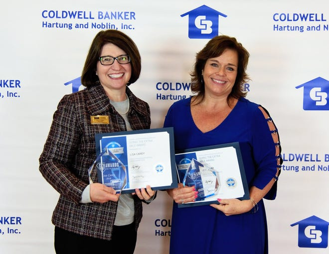 Lisa Carey and Lesa Hart were each honored with GEM Awards.