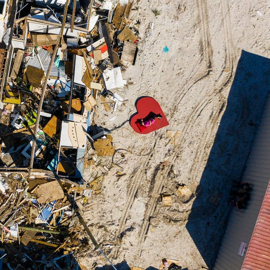 Hurricane Michael blasted Castaways Southern Cuisine into pieces on Oct. 10, 2018. Six months later, the property has been cleared but the restaurant's future is uncertain.