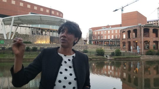 Heidi Otway talks about how the public and private investments in downtown Greenville, South Carolina, reminds her of what's planned for Cascades Park in Tallahassee.