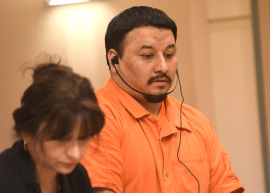 Ricardo Carrillo-Santiago was sentenced in Cumberland County Superior Court on Friday for the November 2015 murders of his ex-girlfriend and her 3-month-old baby.