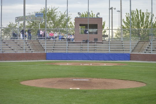Lions Stadium, the home ballpark of the Exeter High School baseball team, underwent major renovations.