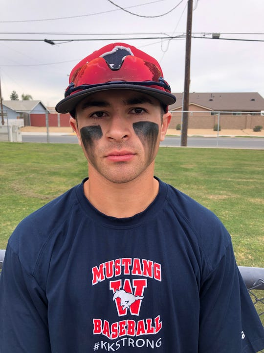 Nathan Marroquin is a baseball player at Tulare Western High School.