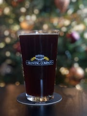 A Minocqua Brewing Company glass of beer.